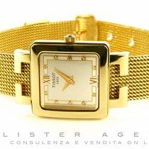Tissot Donna in oro giallo 18Kt Argenté con diamanti