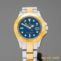 롤렉스 (Rolex) Yacht Master automatic 18K Gold&Steel Lady BOX