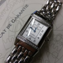 Jaeger-LeCoultre Reverso - Lady - Diamonds - Quartz - Steel...