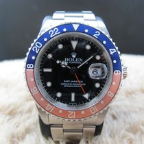 劳力士  (Rolex) GMT MASTER 16700 Pepsi Red/Blue Bezel A Serial...