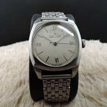 Rolex OYSTER 4647 Military with Silver Roman Dial and Double...