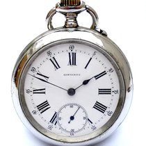 Longines Open Face Antique 1890c with 127 years 50mm