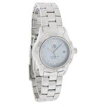 TAG Heuer Aquaracer Ladies Diamond Swiss Quartz Watch WAF1419....
