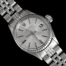 Rolex 1961 Classic Vintage Ladies Date Datejust Watch, Silver...