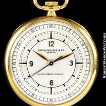 Patek Philippe Pocket Watch Wwii Chapter Dial 18k
