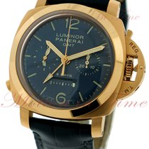 Panerai Luminor 1950 Chronograph Monopulsante GMT 8-Day Power...