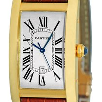 "Cartier ""Tank Americaine"" Automatic Strapwatch."