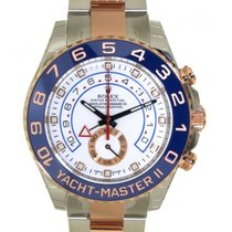 Rolex Yacht Master II 116681 In Red Gold And Steel, 44mm