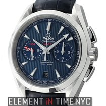 Omega Seamaster Aqua Terra 150 M Co-Axial GMT Chronograph 43mm...