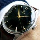 Omega Oversize Jumbo black Honeycomb Dialed Watch