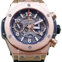 Hublot Big Bang Unico King 411.OX.1180.RX Mens 45mm 18k Rose...