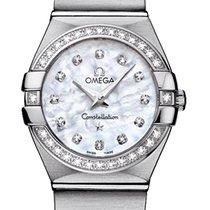 Omega Constellation Brushed 24mm 123.15.24.60.55.001