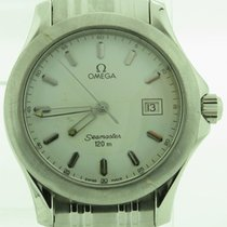 Omega Seamaster White Index Dial With Date Stainless Steel...