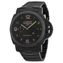 파네라이 (Panerai) Luminor 1950 Tuttonero GMT Black Dial Men's...