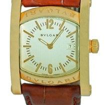 "Bulgari Gent's 18K Yellow Gold  ""Assioma"" Strapwatch."