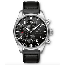IWC Pilots  Black Dial Automatic IW377709 Mens WATCH