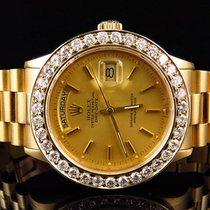 Rolex 18k Yellow Gold Mens 36 MM Rolex President Day-Date...