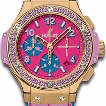 Hublot Ladies Hublot 341.vv.7389.lr.1205.pop15 Big Bang Pop...