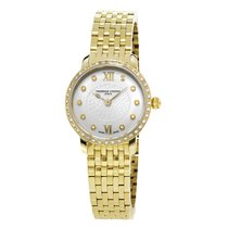 Frederique Constant Ladies Ultra Slim Line mit 40 Diamanten...