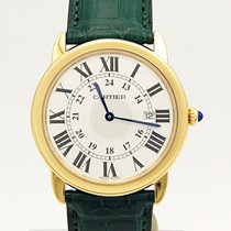 Cartier Ronde Solo 18k Yellow Gold Quartz W6700455 36mm