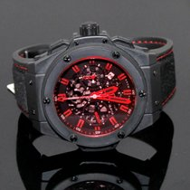 Hublot King Power Congo Special Editoin - Black Ceramic - Limited