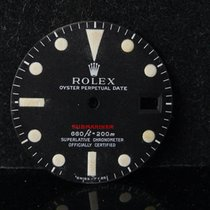 Rolex Vintage 1970 / 2 Submariner Red 1680 Open 6 Mark 4 IV Dial