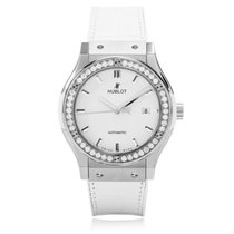Hublot Classic Fusion Quartz Titanium White Diamonds 33mm