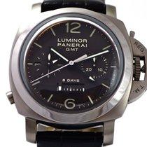 Panerai Luminor 1950 8 Days GMT PAM00311Monopulsante Chrono...