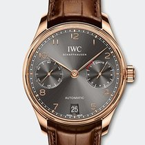 IWC PORTOGHESE Automatic Red Gold 18K Ardoise Dial IW500702