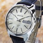 Seiko 5 Actus Automatic1970s Jumbo Stainless Steel Watch Japan...