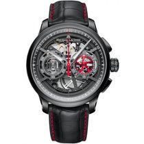 Maurice Lacroix Masterpiece Skeleton Chronograph MP6028-PVB01-...