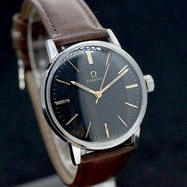 Omega Black dial Handaufzug caliber 601 aus 1964