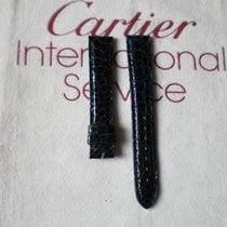 Cartier kroko 15/14 tmavě modrý