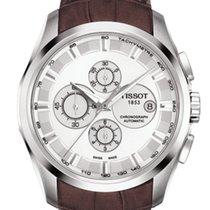 天梭 (Tissot) Couturier Silver Dial Chronograph