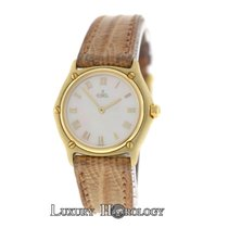 Ebel Authentic Ladies Classic 18K Yellow Gold MOP Quartz 27MM
