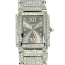Patek Philippe Twenty-4 Diamond Pave White gold