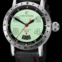 Chronoswiss Timemaster 150 Steel/Super LumiNova Dial 41mm...