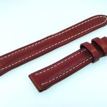 Breitling Band 16mm Kalb Rot Braun Red Brown Calf Strap Für...
