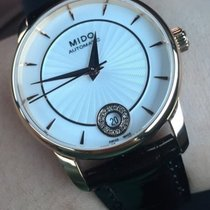 Mido Baroncelli Lady Black Strap Data Diamonds M0072073603600