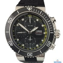 Ορίς (Oris) Aquis Depth Gauge Chronograph 01 774 7708 4154-Set RS