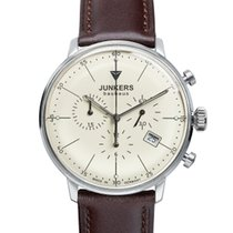 Junkers Bauhaus Chronograph 6088-5 inkl.Ersatzarmband NEU
