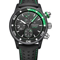 Maurice Lacroix Pontos S Extreme Chronograph, Date, Black and...