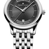 Maurice Lacroix Les Classique Date Quartz Black Dial, Steel...