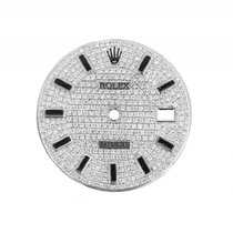 Rolex Zubehör - Zifferblatt Datejust II Weißgold Diamond...