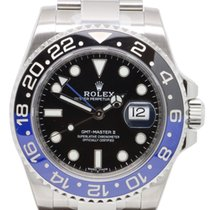 ロレックス (Rolex) GMT black and blue 116710 BLNR