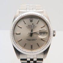 Rolex Datejust White Gold Bezel 36mm Ref. 16234