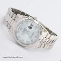 Rolex Platinum Day-Date Ice Blue Ref.118206