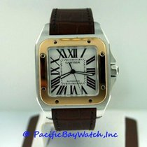 Cartier Santos 100 XL W20072X7 Pre-Owned