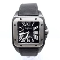 까르띠에 (Cartier) Santos 100XL Box & Papers TITANIUM BLACK