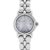 Bertolucci Vir Mother of Pearl Diamond Dial Ladies Watch